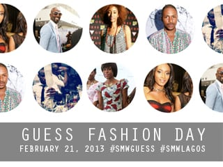 GUESS Fashion Day: #SMWLagos Gets Stylish
