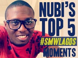 Nubi's Top 5 Most Memorable SMW Lagos Moments