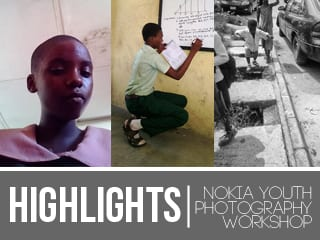 Highlights from the SMWLagos + Nokia Youth Photography Workshop at the Ovie Brume Foundation.