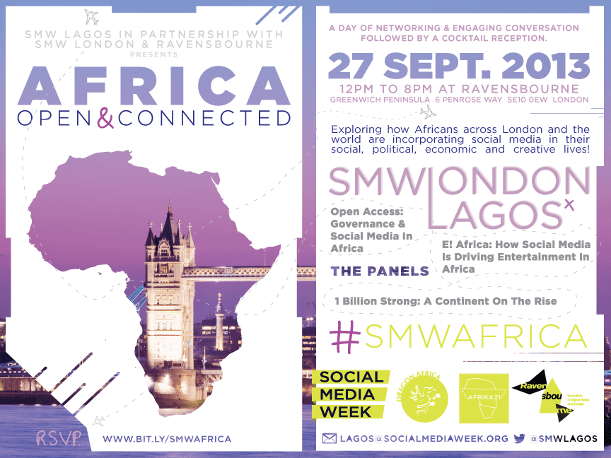 We're Headed to London for Africa: Open & Connected