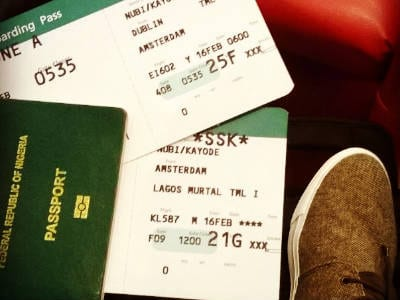 #TravelWithMe // From Dublin to Lagos For Social Media Week​