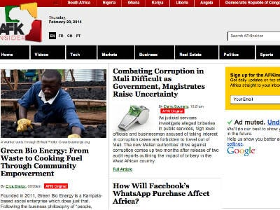 AFKInsider Spotlights African Business News, Targets Underserved Group