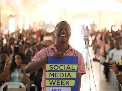 #ThrowbackThursday – 1 Photo that captures my #SMWLagos 2014 experience