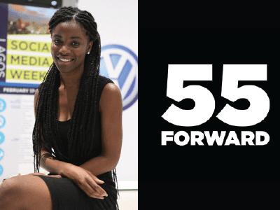 Three Questions with #55FORWARD Ambassador Sharon Obuobi
