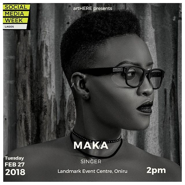 At #SMWLagos, Singer Maka Sam-Ejehu Talks About Surviving As A Creative